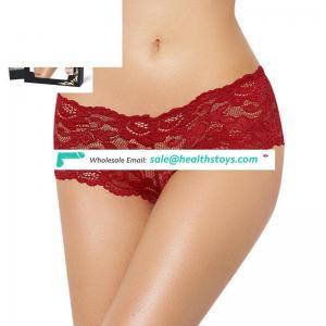 Wholesale attractive plus size sexy lace underwear for fat women