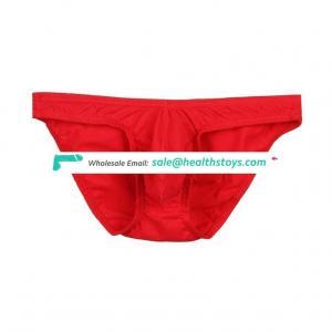 Wholesale cheap good quality red sexy men jockey underwear