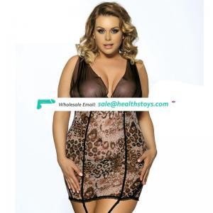 Wholesale fashion mature women plus size lingerie