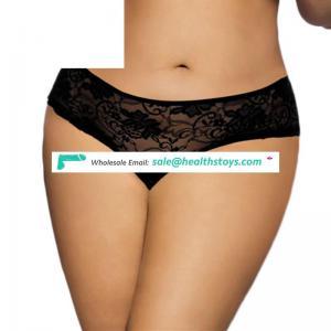 Wholesale fat women underwear sexy open front panty