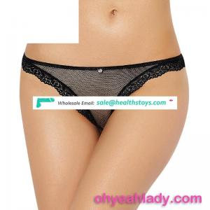 Wholesale female underwear transparent