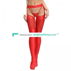 Wholesale high quality sexy leather stockings
