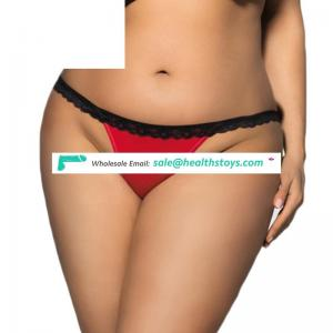 Wholesale paypal accept wholesale woman underwear lady thong sexy transparent panties