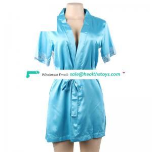 Wholesale sexy women silk satin femme robe de mariage