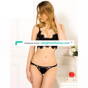 Wholesale transparent bra panty set