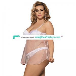 Wholesale transparent lingerie nude