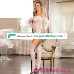 Wholesale white sexy tight shiny women pantyhose sexi