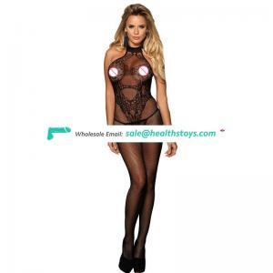Wholesale women crotchless bodystocking sex lingerie