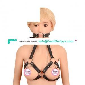 Women Black Goth Lingerie Harness Bondage Bra Lingerie Fetish Bondage Harness Belt