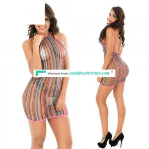 Women Fashion Lace Crotchless Full Bodystocking Erotic Lingerie Underwear