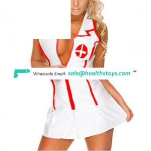 Women Uniform Lingerie Nurse Doctor Roles Cosplay Masquerade Lace Costume