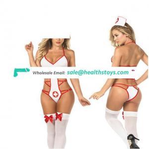 Women lingerie nurse cosplay costumes babydoll nurse underwear