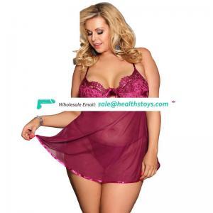 Women plus size lace sex lingerie