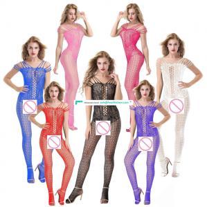 Womens Hot Bodystocking Erotic Transparent Lingerie Mesh Nightwear