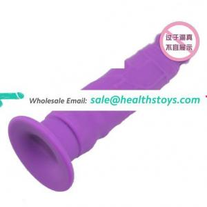 artificial penis soft silicone dildo for women with suction cup