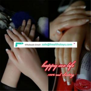 chinese supplier Very Lifelike Silicone Hand Mannequin Displaying Ring