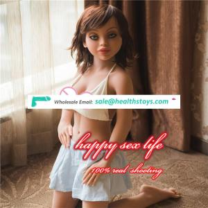 free shipping Cheap Japanese Mini Sex Doll Silicone Realistic Vagina/Anal Doll for Men Adult