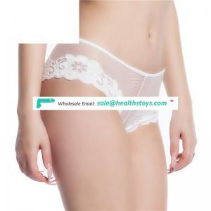 good selling underwear open crotch girls in white panties