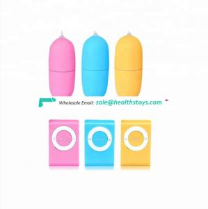 hot sale mini Wireless Remote Pussy Adult Jump Eggs Silicone  Vibrating Eggs Sex toys G Spot Massage Vibrator For Women