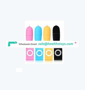 mini Waterproof Silicone Rechargeable Remote Wireless Eggs Vibrator Sex toys Vibrator Jump Eggs Adult Products For Women