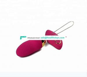 mini Wireless Remote Pussy Adult Jump Eggs Sex toys G Spot Massage Vibrator  Silicone  Vibrating Eggs For Women
