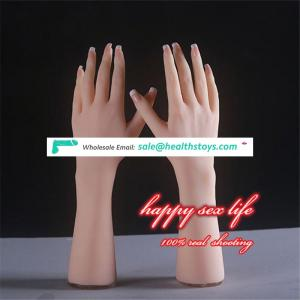 new product made in china Realistic Silicone Sexy Hand Model For displaying