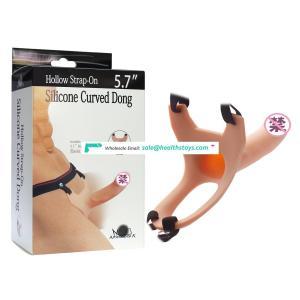 strap on dildo vibrator realistic penis for men&women with belt