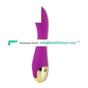 usb charge g spot clitoris massage vibrating dildo vibrator toys