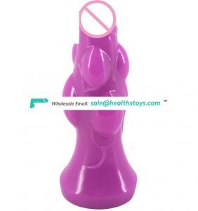 20cm Toys Sex Adult Realistic FAAK Dildo Hot Sale Amazon Sex Shop Erotic Toys Bulging Dildo Butt Plug Sex Toys Pussy Bumpy Dildo