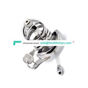 304 Stainless Steel Bird Cock Cage Lock Adult Game Metal Male Chastity Belt Device Penis Ring Sex Toys steel cock cage For Men