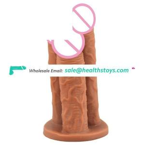 9'' FAAK 066 Amazon Hot Sale Wholesale EroticToys Sexual Triple Dildos Butt Plug Faak Dildos Toys Sex Adult For Women