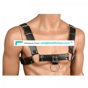 Adjustable Leather Underwear BDSM Sex Toys Male Restraint Fetish Bondage Set