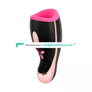 Aircraft Cup Sex Toy Men Vibrator Pocket Pussy Male Masturbation Cup for Man Penis
