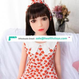 Ariel-100CM silicone tpe rubber  flat breast  sexy baby dolls adult sex dolls for man sexy