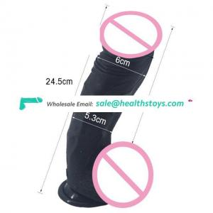 Best Quality Adult Sex Toy  Silicone  Realistic Design Dildo Real Sensuality  and Flexible Feel Comfortable for Woman