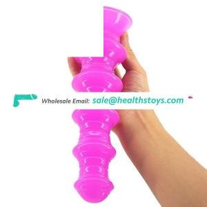 CHGD27 Tower Shape Long Big Butt Plug Extremely Stimuating Sex Toys For Women Festish Tool