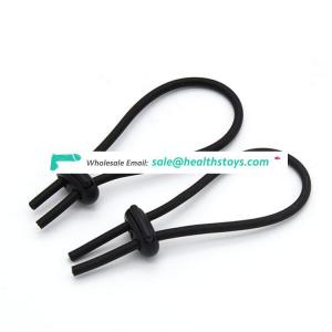 Electric Conductive Rubber Penis Extender Enlargement Cream Cock Ring Sex Toy