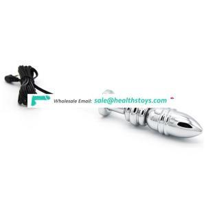 Electric Metal Anal Sex Toy Stimulator Vibrator Woman Wholesale Butt Plug