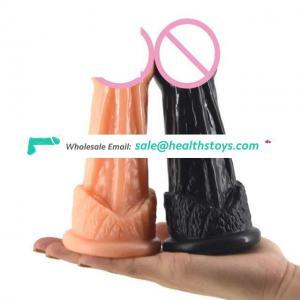 FAAK 019 unisex high fidelity phallus masturbation butt plug versed in mouth adult products