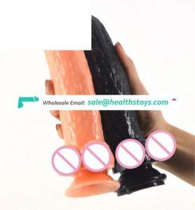 FAAK 022 unisex high fidelity phallus masturbation butt plug versed in mouth adult products
