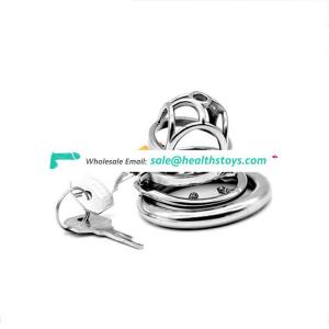 FAAK 07 Chastity Device Male Metal Cage 304 Stainless Steel Restraint Ring Sex Games Chastity Cage Prison Cage Chastity For Male
