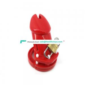 FAAK 10cm plastic  cage urethral chastity device for male keyholder chastity  penis cage