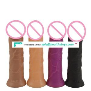 FAAK 17cm  mini dildo  mushroom shape plastic penis  rubber penis toys sex adult  dildo realistic artificial penis