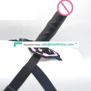 FAAK 17cm Lesbian sex toy PVC penis ladies dress strapon dildo pants Strapon dildo for lesbian strap on dildo with belt