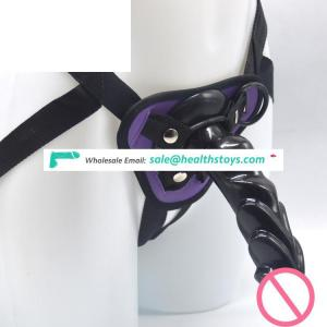 FAAK 19cm deer horn strap on dildo with belt for male women pants animal penis with belt sex toy animal dildo strapon for women
