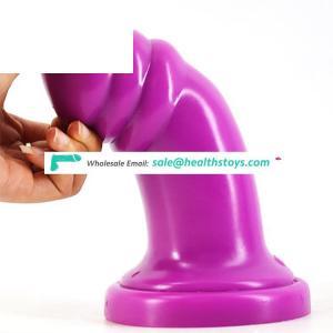 FAAK 19cmSprail anal thick  ass massager butt plug sex toys anal wholesale sex toys vaginal plug ass for female ass sex anal