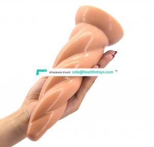 FAAK 22cm sprial anal plug toys sex adult  butt plug sex toys anal pussy vagina ass sex shop Juguetes sexuales silicone butt