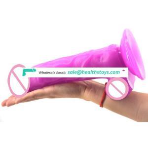 FAAK 23.6CM*5.2CM Big human dildo sex shop Realistic  dildo realistic  Juguetes sexuales plastic PVC penis