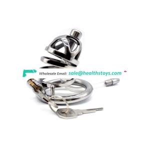 FAAK 40 45 50 mm Stainless Steel Male Chastity Cage Cock Lock Chastity Device Penis ring cock Bird Cage fight cock cage for men