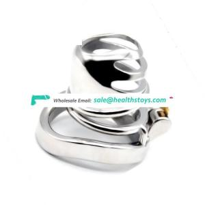 FAAK 40/45/50mm metal male chastity device padlock artificial cock cage sex toys boys sex toy cock cage for male adult sex games